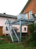 Balkone und Geländer